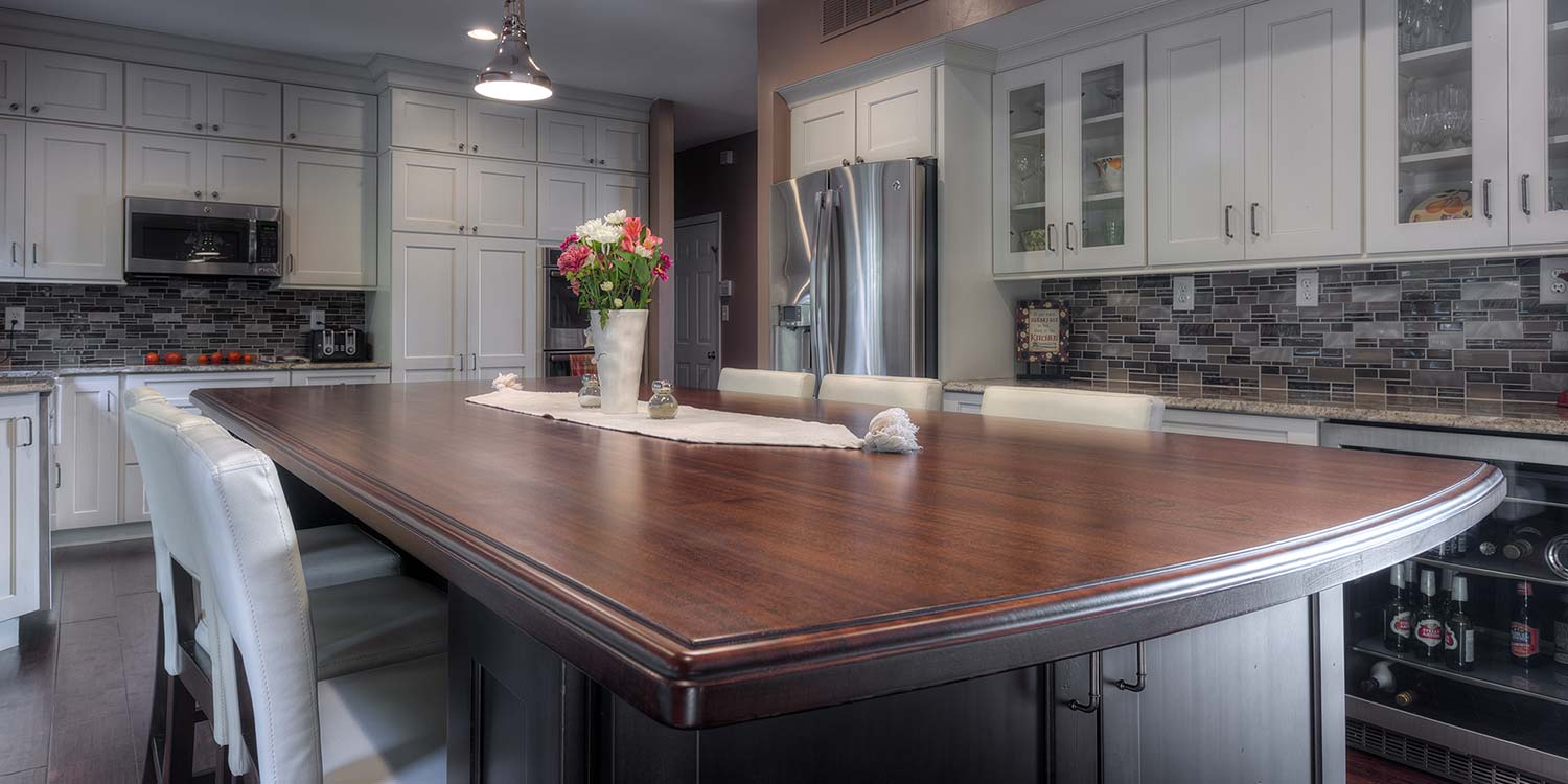 An image of a beautiful kitchen countertop done by Kstair